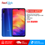 [Pre-Order ETA : 27 March] Xiaomi Redmi Note 7 (4GB/64GB) Original Xiaomi Malaysia Set + 4 Free Gift Worth RM99