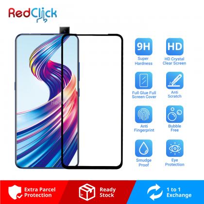 Vivo V15 Full Glue Full Cover 9H Tempered Glass