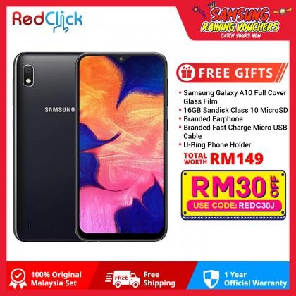 Samsung Galaxy A10 (2GB/32GB) Original Samsung Malaysia Set + 4 Free Gift Worth RM149