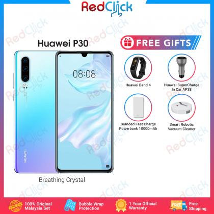 Huawei P30 (8GB/128GB) Original Huawei Malaysia Set + 4 Free Gift Worth RM299