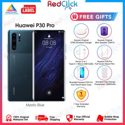 Huawei P30 Pro (8GB/256GB) Original Huawei Malaysia Set + 6 Free Gift Worth RM699