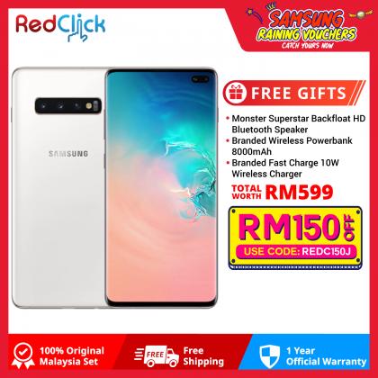 Samsung Galaxy S10 Plus/G975 (12GB/1TB) Original Samsung Malaysia Set + 3 Free Gift Worth RM599
