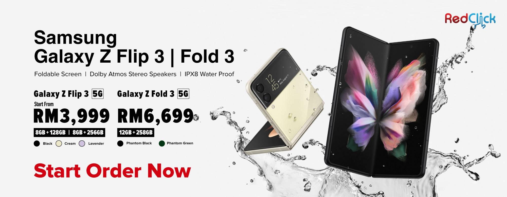 Samsung Galaxy Z Flip 3 & Z Fold 3 5G